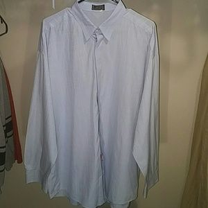 Vintage Gianni Versace Crooked Scale Stripe Shirt